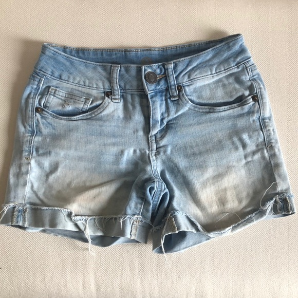 Mid-Rise Jean Shorts